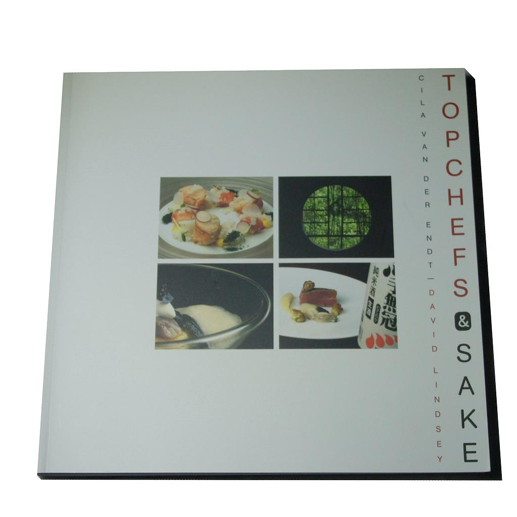 YS2000 - Boek Top Chefs and Sake